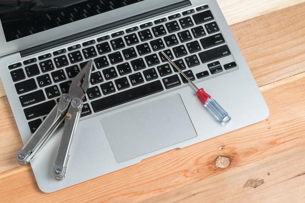 Portátil con herramientas para la postedición